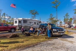 Family at the Campsite