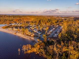 Aerial View of RV Resort
