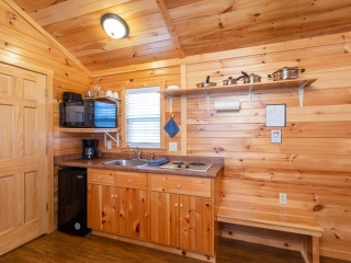 Kitchen of Studio Cottage