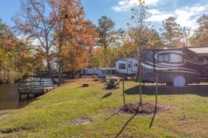 rv sites near lake